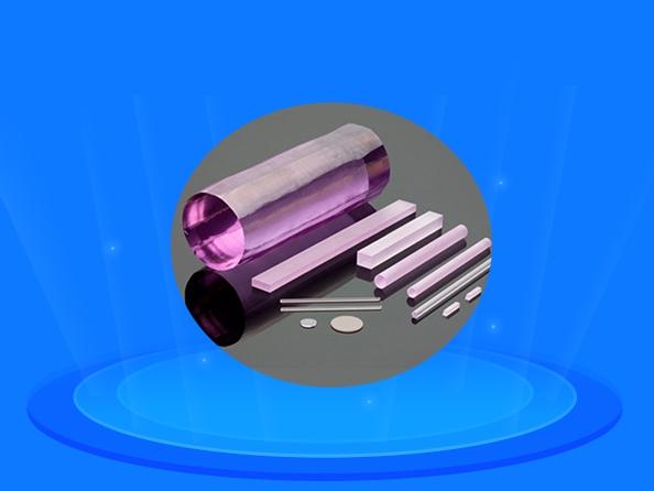 掺钕钇铝石榴石晶体
